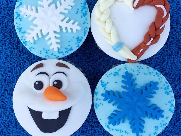 Frozen screening & Cupcake Decorating Party