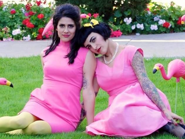 Flamingo Vintage Clothing Sale