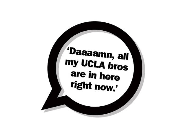 Daaaamn, all my UCLA bros are in here right now.