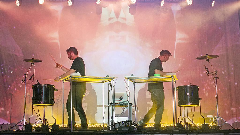 ODESZA at Coachella 2015, day 3