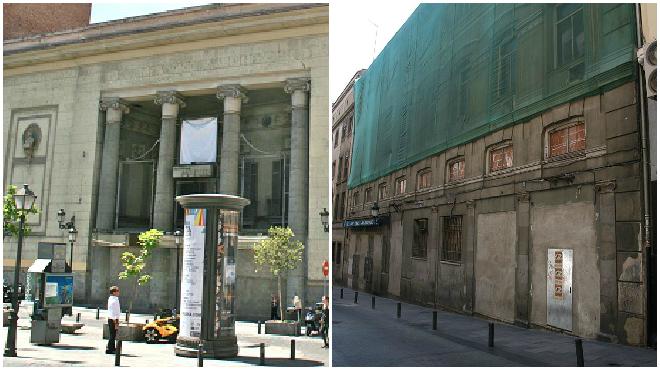 De cines Madrid a un gimnasio