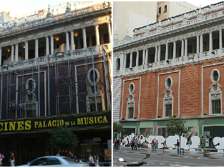 Del Palacio de la Música a ¿Mango?