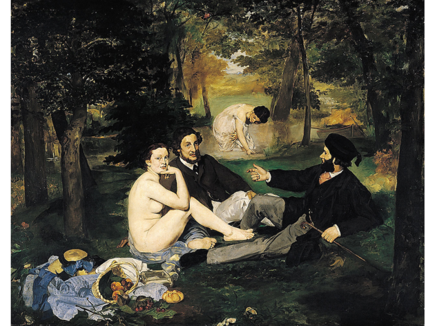 Edouard Manet, 'Le Déjeuner sur l'herbe', 1863