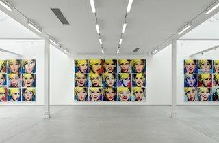 (Installation view, Jonathan Horowitz, 304.8cm Paintings, Sadie Coles HQ, London, 26 March – 30 May 2015 Copyright the artist, courtesy Sadie Coles HQ, London)