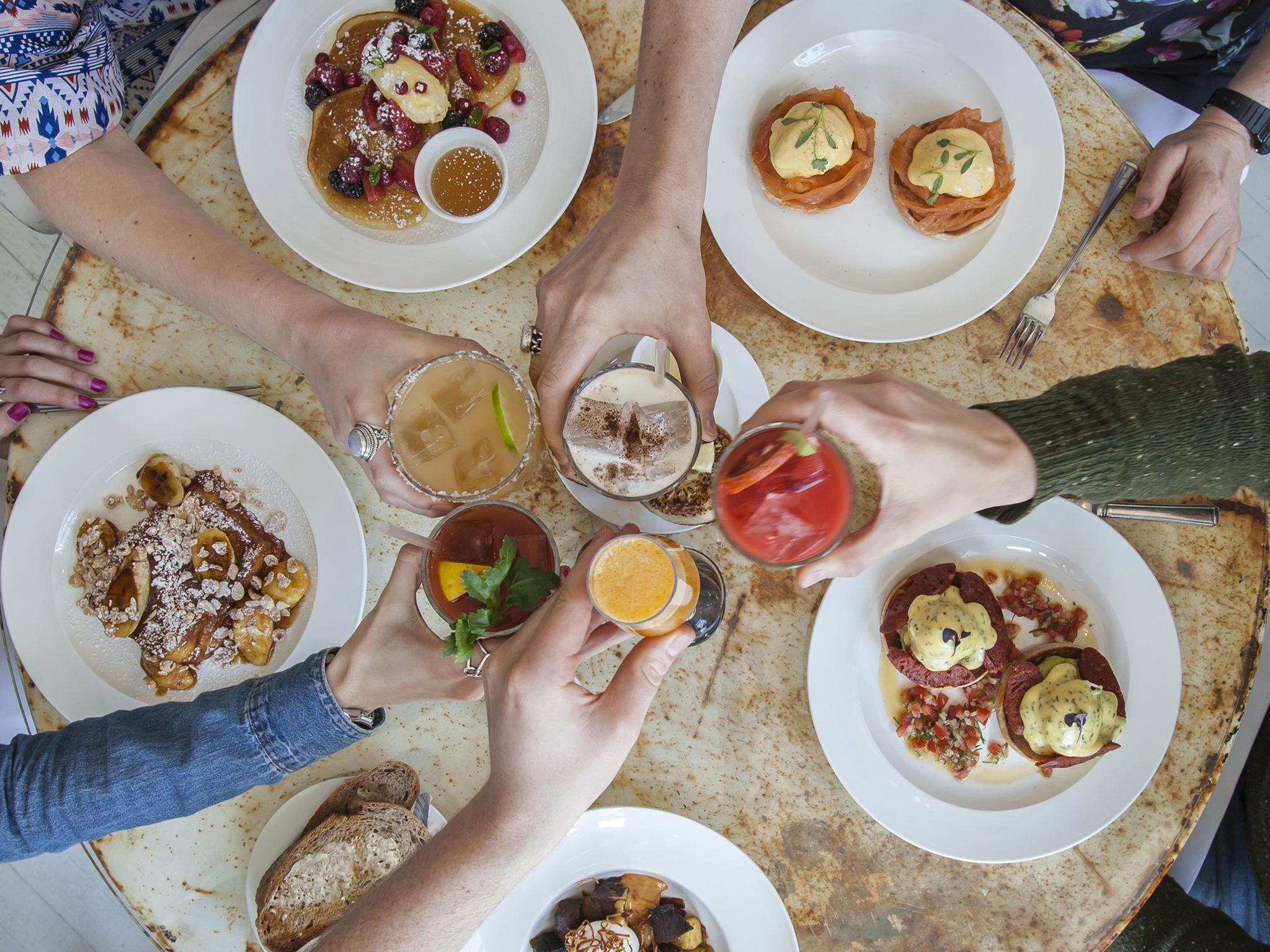 Bottomless brunch at Bourne & Hollingsworth Buildings