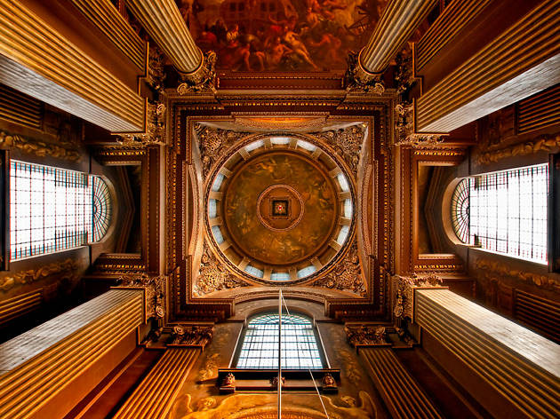Greenwich - Old Royal Naval College - Painted Hall