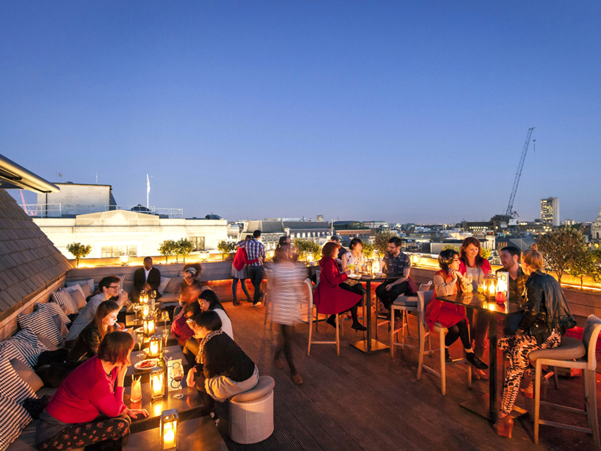 London's star rooftop bars