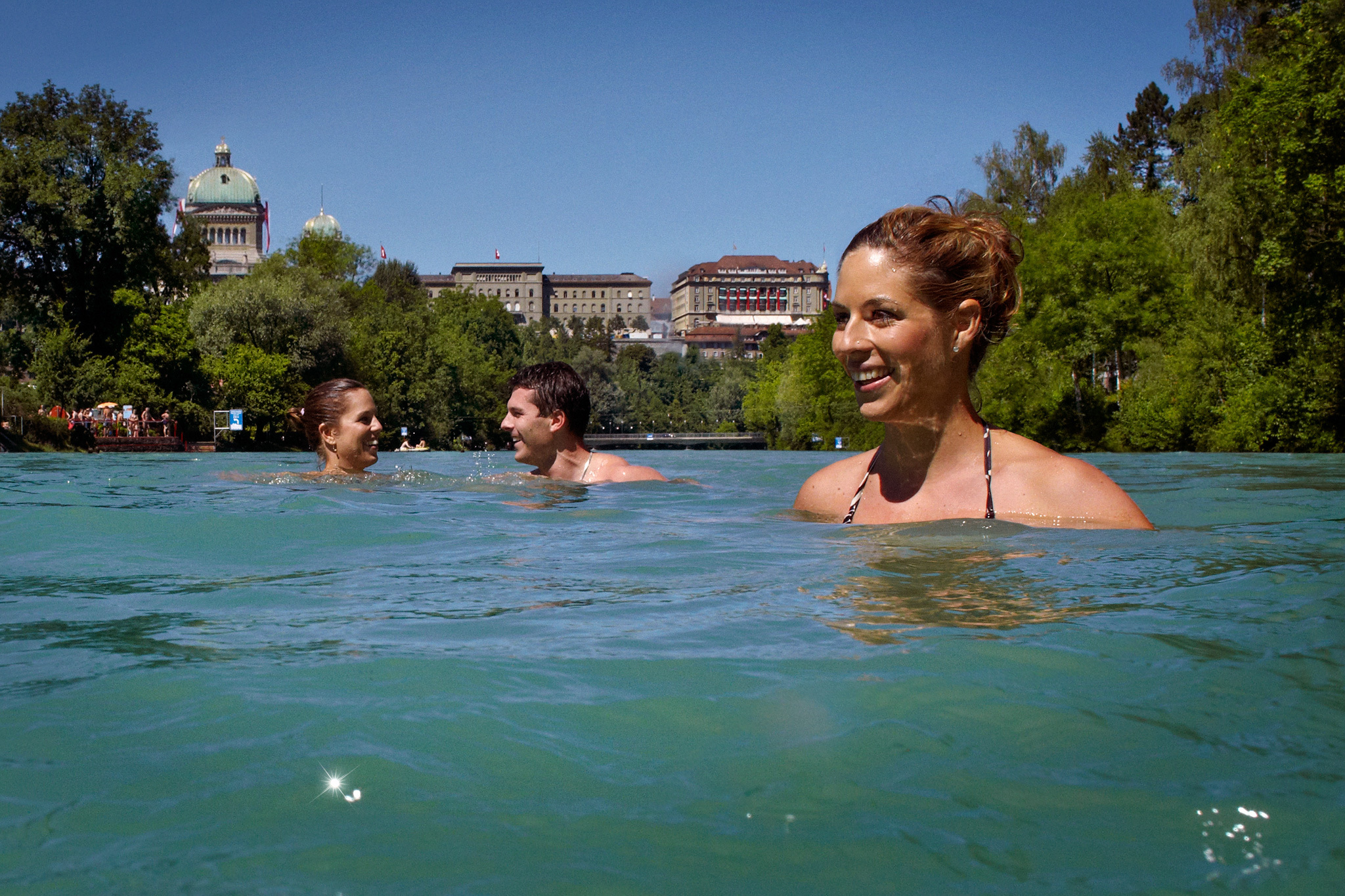 Aare outdoor baths  • Bern