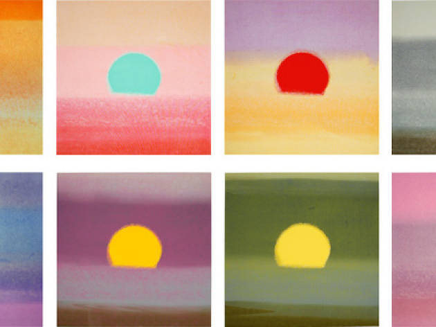 Andy Warhol : Sunsets, 1972