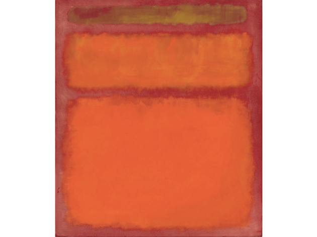 Mark Rothko : Orange, Red, Yellow, 1961