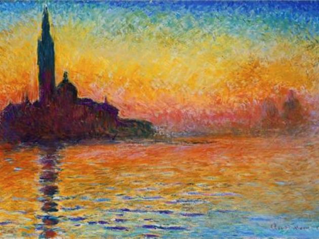 Claude Monet : San Giorgio Maggiore au crépuscule, 1908-1912