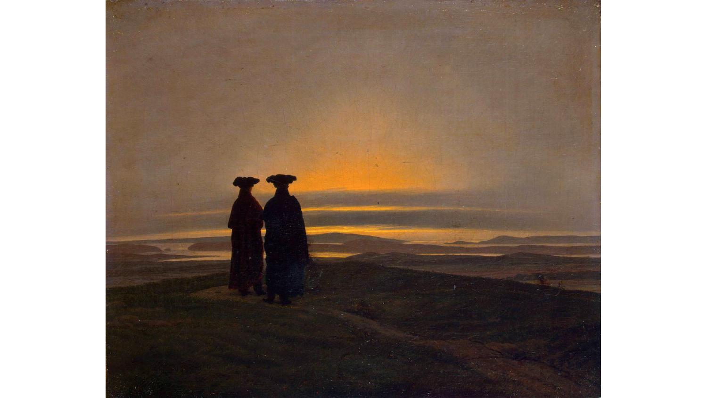 Caspar David Friedrich : Couchers de soleil (frères), c. 1830-1835