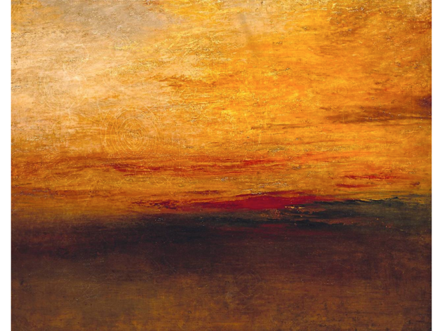 William Turner : Sunset, c. 1830-1835