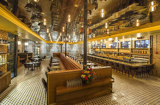 Brass Monkey is a '70s-themed spot in the West Loop.