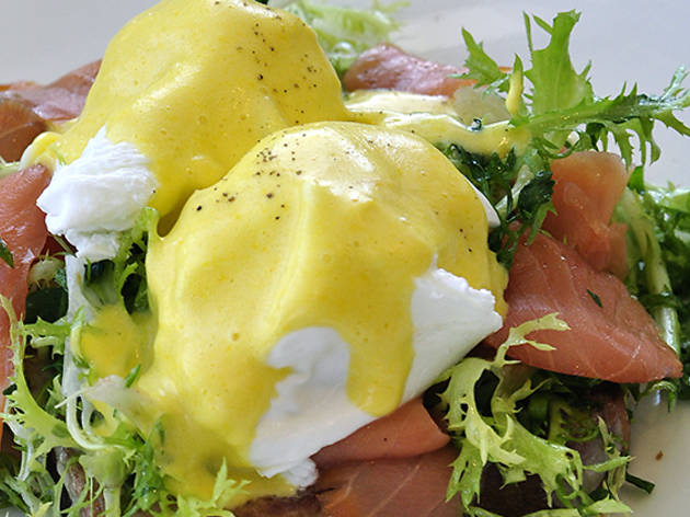 The Tavern Benedict at The Larder at Burton Way