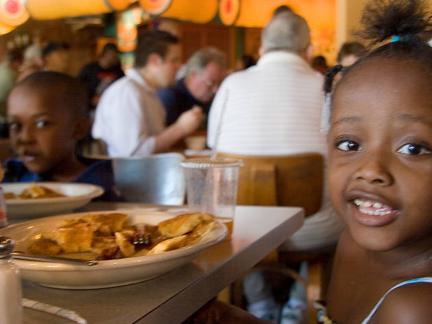 Wishbone has one of the best kid-friendly brunches in Chicago.