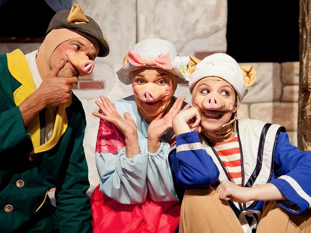 Els tres porquets de Dreams Teatre