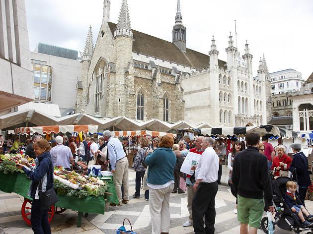 Guildhall Yard Food Market