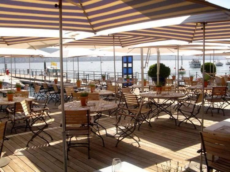 The best summer restaurants in Switzerland