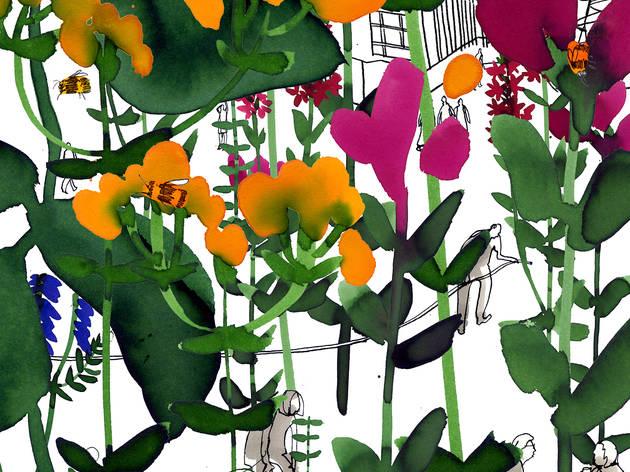 (Roof Garden by Anna Steinberg)