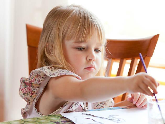 Taller de arte para niños en Galería L