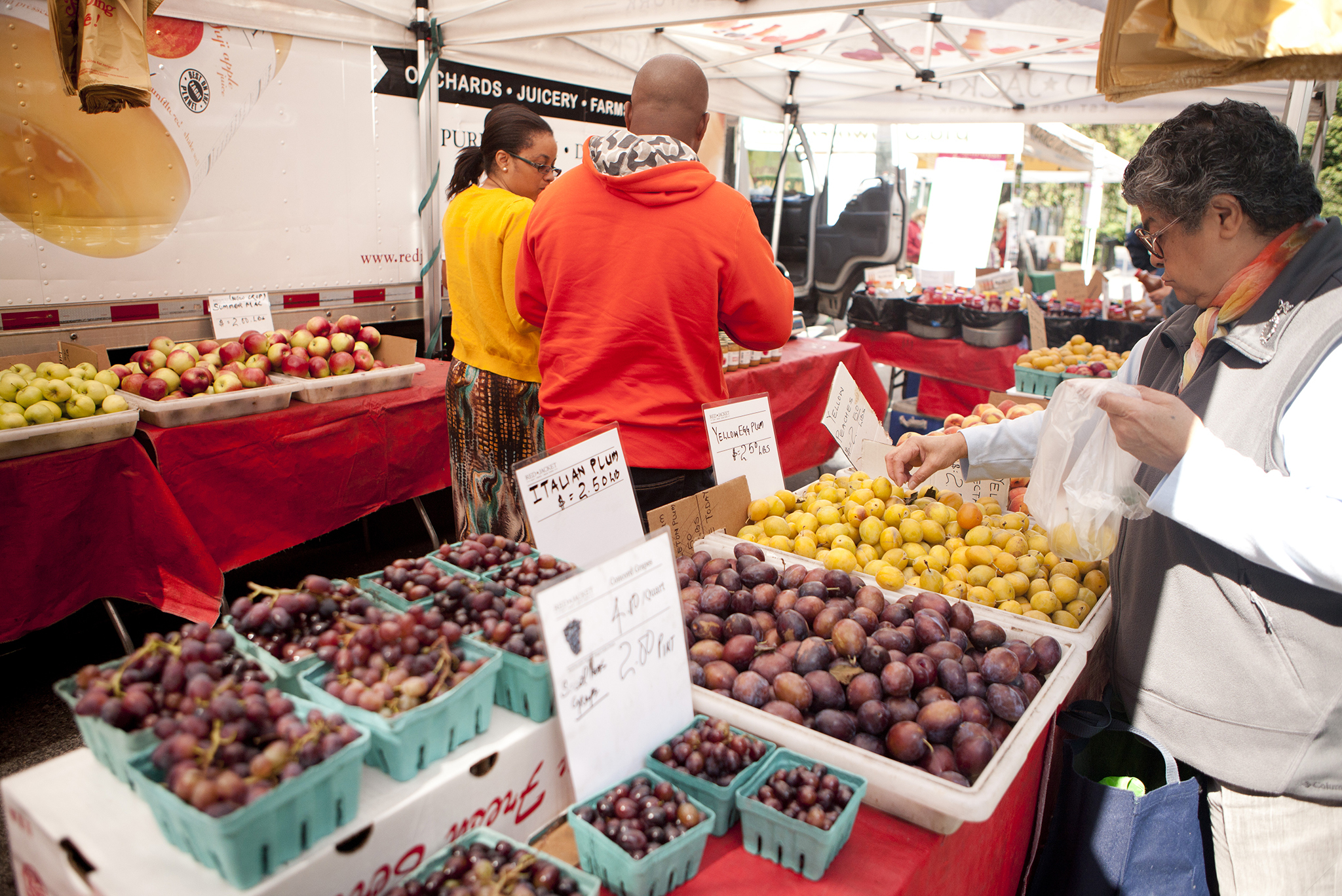 Our pick of farmers' markets