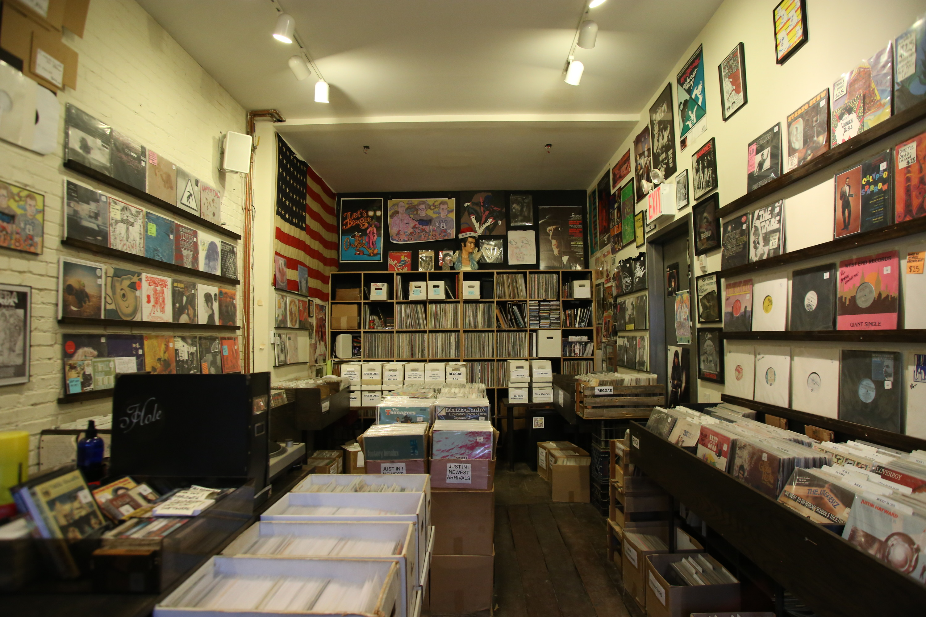 Coop Records U Tapes With Japanese Kitchen Store Nyc