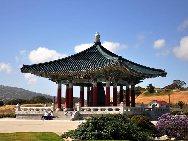 Korean Bell of Friendship (and Point Fermin Park)
