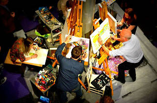 Art Battle Manchester IV