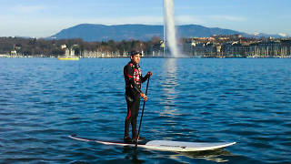 Paddleboard on Lake Geneva