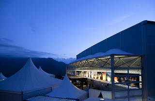 Verbier Festival, Salle des Combins where the large orchestral concerts take place © Nicolas Brodard