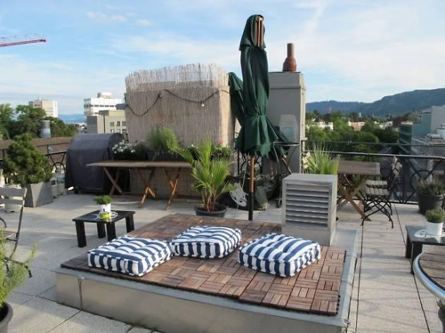 Hotel Helvetia rooftop bar