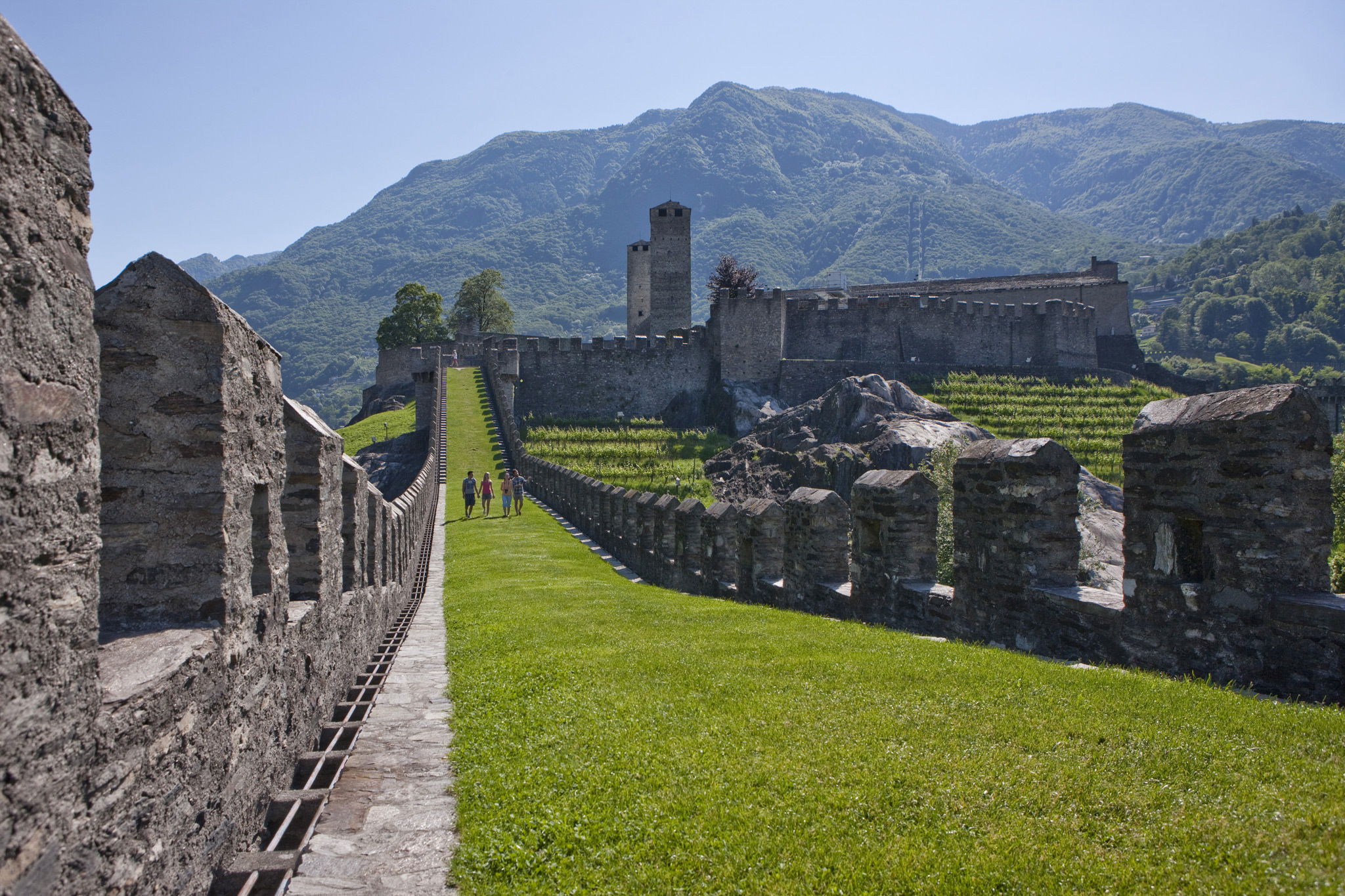 The Castles of Bellinzona