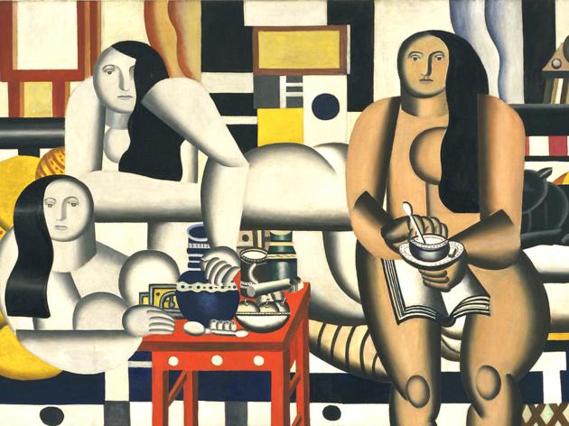 (Fernand Léger, 'Three Women (Le Grand Déjeuner)', 1921 / ©New York, The Museum of Modern Art. Fonds Mrs. Simon Guggenheim, 1942)