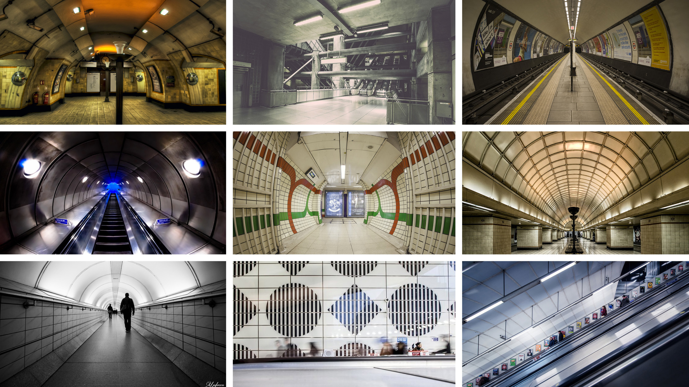 Quiz: can you name these tube stations?