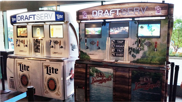 DraftServ automated beer machines coming to the United Center for the playoffs
