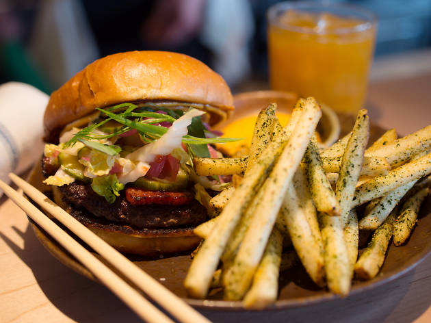 Yusho Burger at Yusho, $25 (part of Sunday deal)