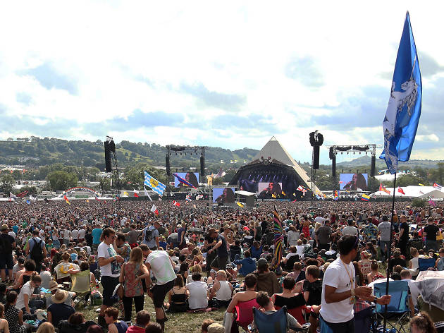 Glastonbury festival competition