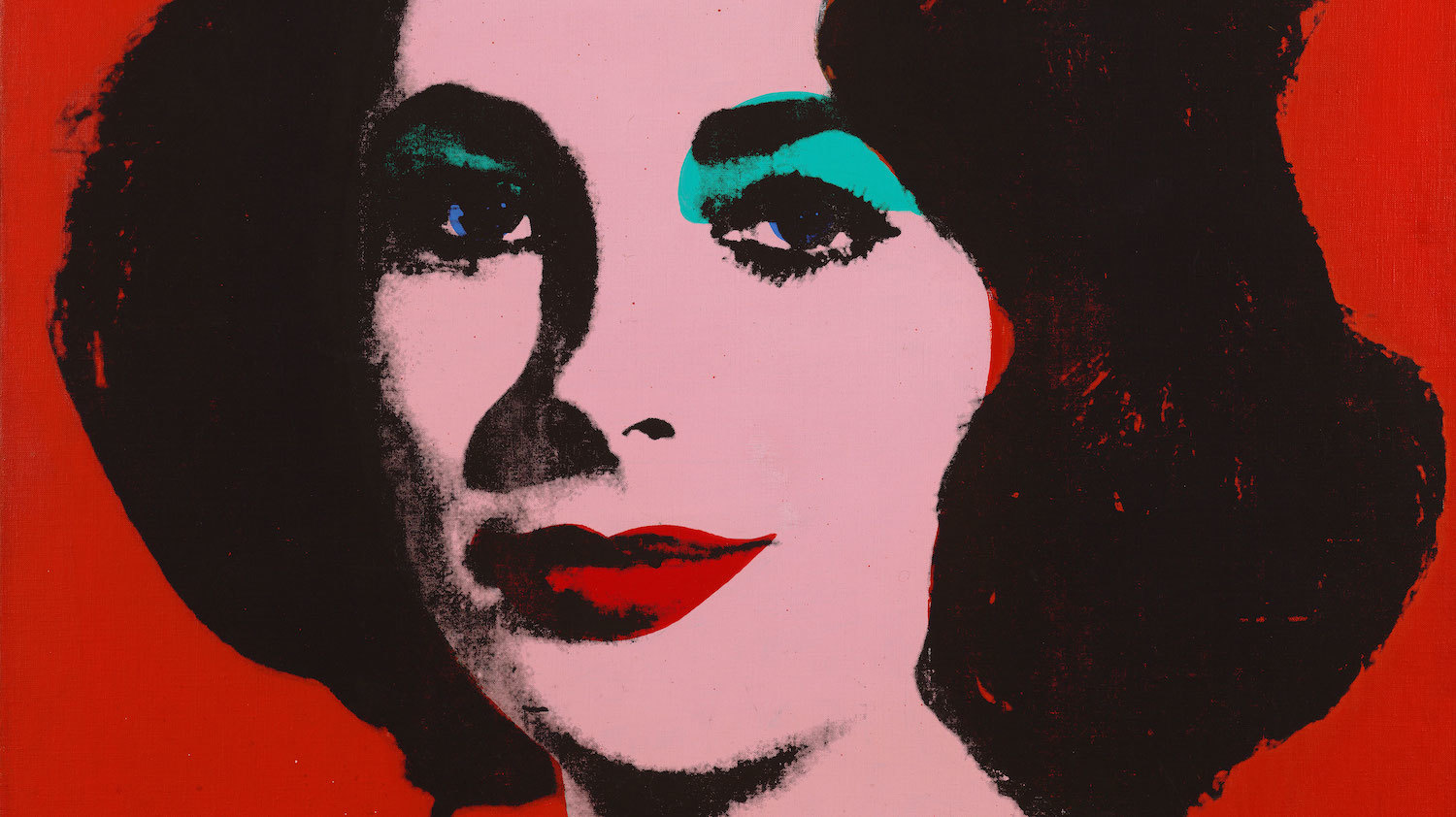 (Andy Warhol, 'Liz #6' (détail), 1963 / © The Andy Warhol Foundation for the Visual Arts, Inc. / Artists Rights Society (ARS), New York / ©SFMOMA / Photo Ben Blackwell)