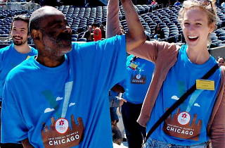 Special Olympics Chicago Spring Games Opening Ceremonies