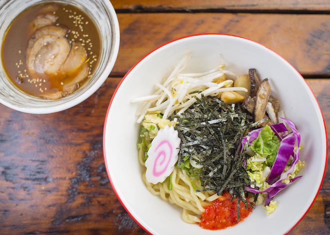 The hunt: Tsukemen ramen