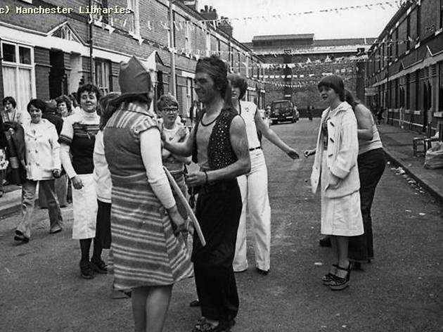 Street party, Roseberry Street