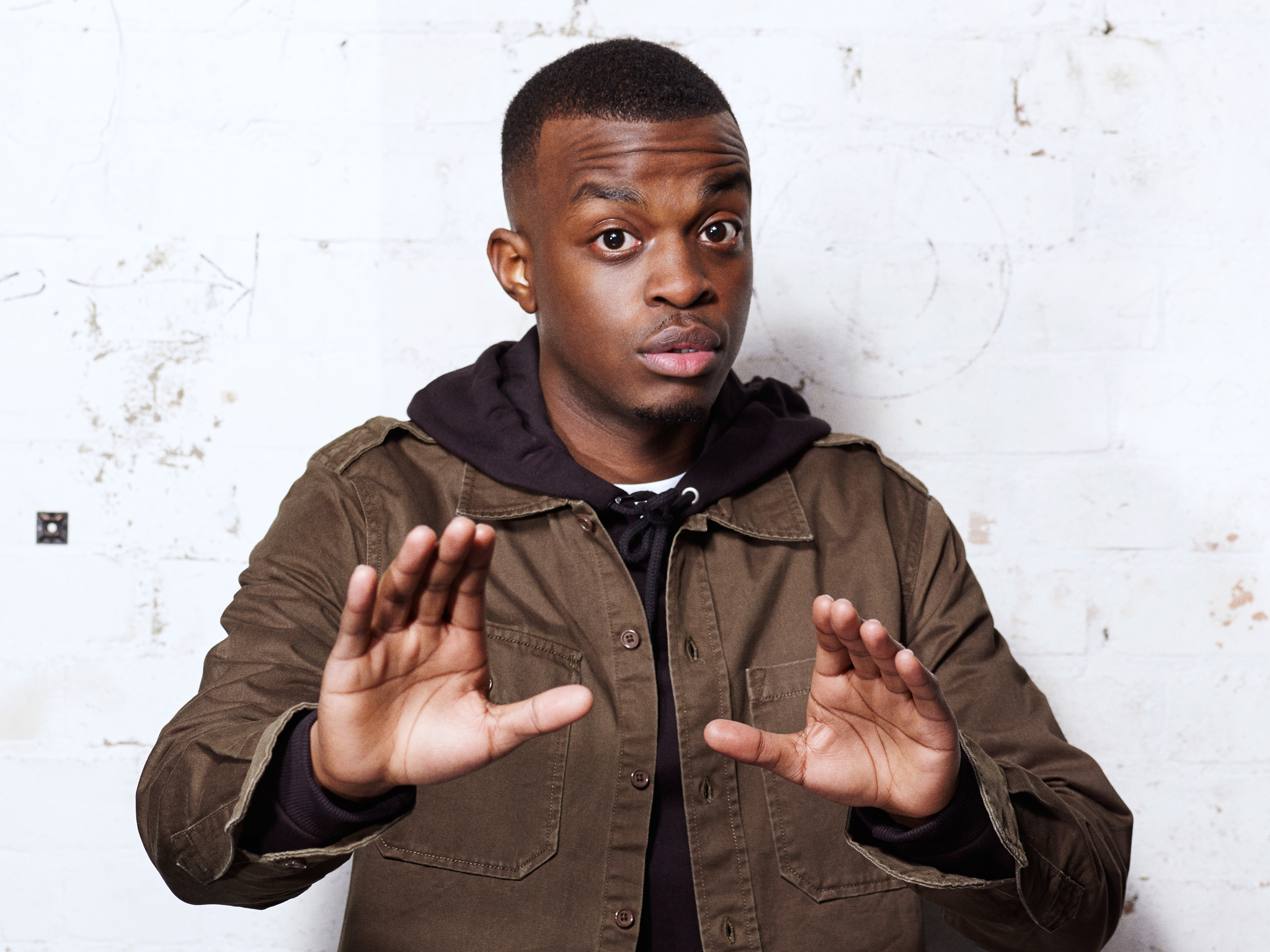 George The Poet wants to change the system