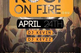 Roof on Fire Party | 24 Apr
