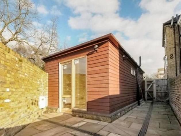 7. London's swankiest shed