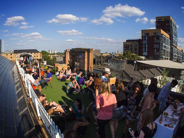 Dalston Roof Park daytime