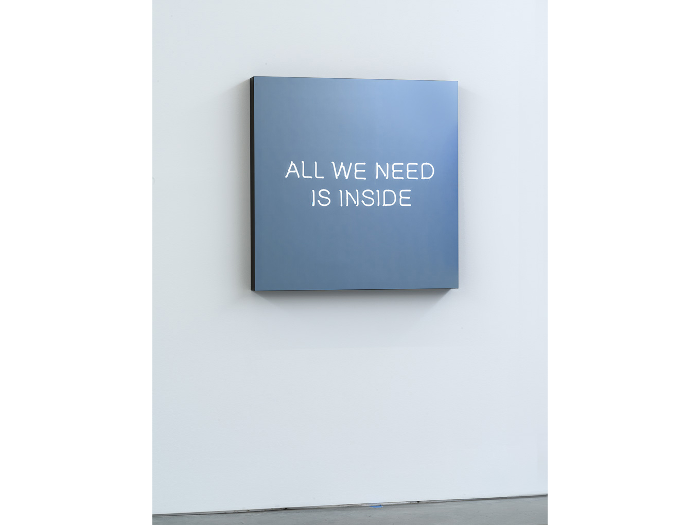 "Jeppe Hein, ""All We Need Is Inside"""