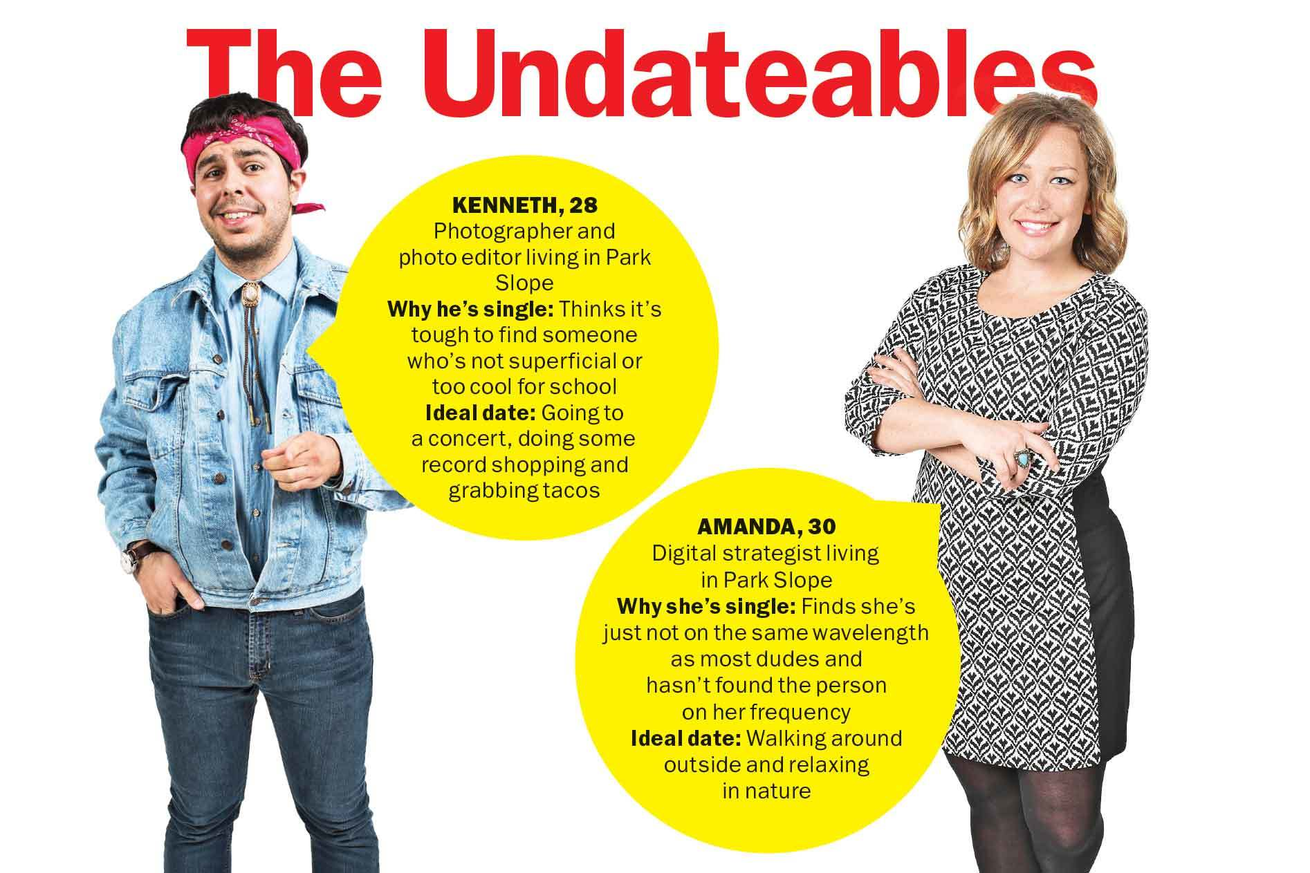 Meet the Undateables: Amanda and Kenneth