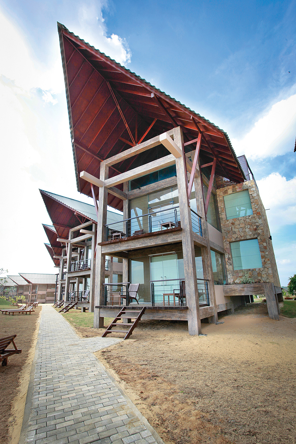 Laya Safari is a hotel in the South