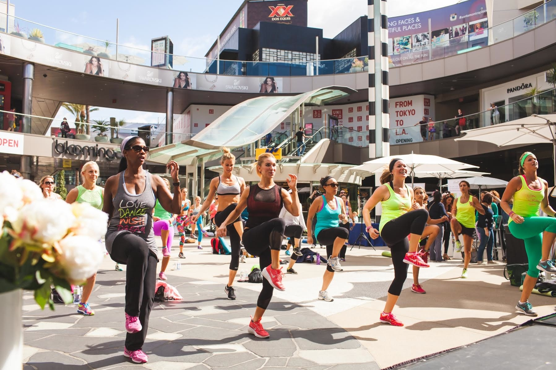 Step Up & Stand Out at Lorna Jane Santa Monica